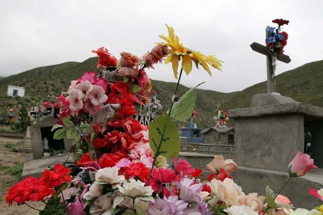 Cimitero a Tafì del Valle