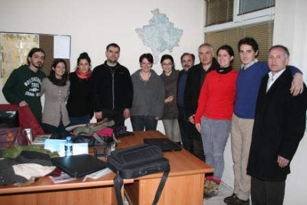 Foto di gruppo dal Kosovo