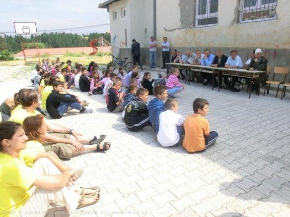 Apertura ufficiale del campo TL a Dragash, Kosovo