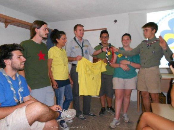 Scambio tra il gruppo di Scout di Prizren e quello di Pisa in Kosovo per il progetto Terre e Liberta, Prizren, Kosovo