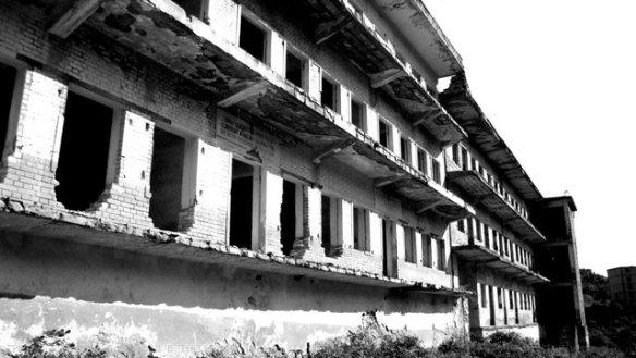 Ex carcere utilizzato per gli oppositori politici durante il regime a Spac, regione di Mirdita, Albania-Roberto Mannai