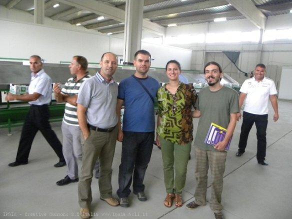Export day, delegazione IPSIA Kosovo