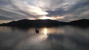 Lago di Vau dejes, regione di Scutari